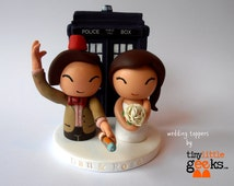 Dr Who (11th) inspired Wedding Cake Topper