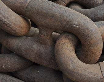 Chain photo, industrial photo,