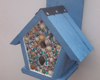 The 'Ornamental Penthouse' Bird Nesting Box - Henry's Bird Boxes, Handmade in Wales