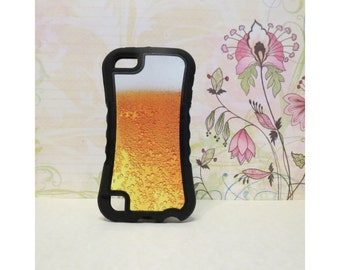 Beer Bubbles - Rubber iPod Touch 5 (5th gen) Case