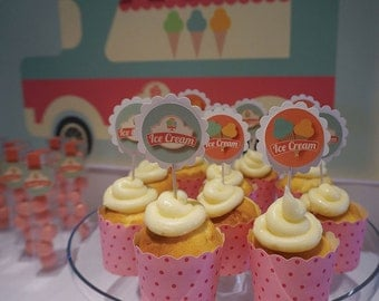 15 Guest Party Pack | Ice Cream Social
