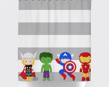 popular items for boys shower curtain on etsy