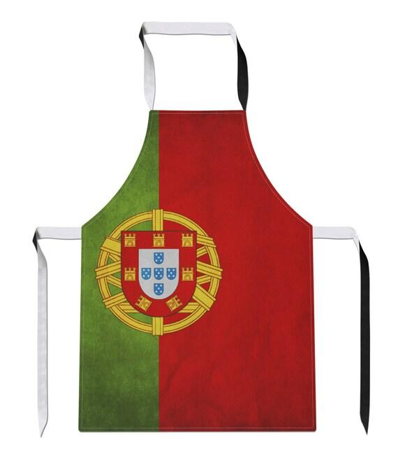Portugal vintage pays drapeau luxe nouveaut football tablier for Nouveaute ustensile cuisine