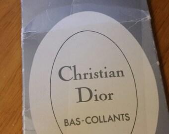 Vintage Christian Dior Bas-Collant, collant verde giada, calzetteria.