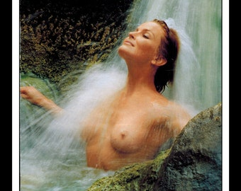 "Mature Celebrity Nude : Bo Derek Single Page Photo Wall Art Decor 8.5"" x 11"""