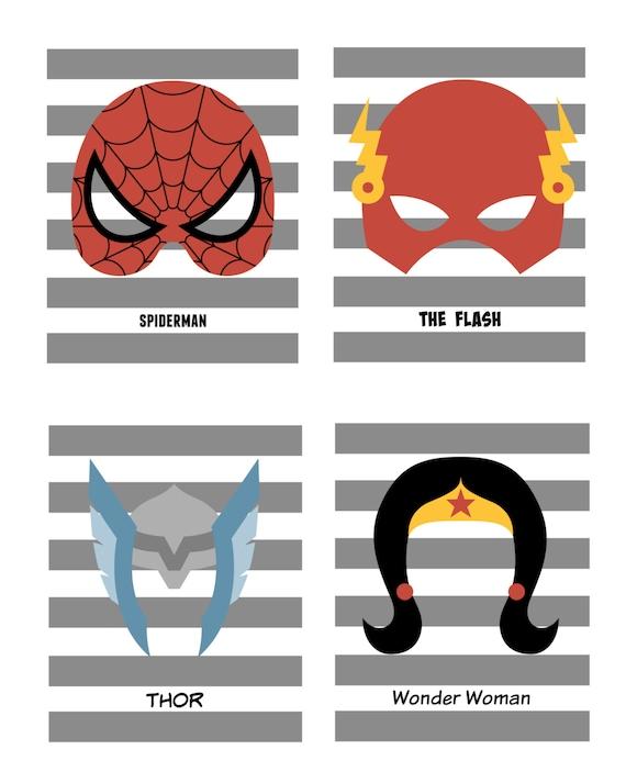 Articles similaires imprimer masque de super h ros - Masque spiderman a imprimer ...
