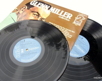 The GLENN MILLER Collection 2 set collection Miller vinyl Glenn Miller collectible vinyl Collection Miller Glenn E02/109