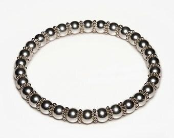 Silver Edition Zen Magnetics Bracelet