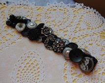 Button Zipper Bracelet