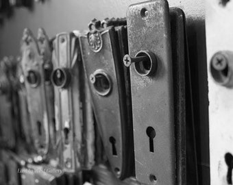 Door Plates East to West Gallery Fine Art Photography