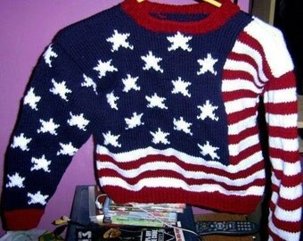 shirt flag American girl