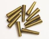 Brass Spring Beads,Cone Beads,Brass Jewelry Findings Made in USA, Jewelry Components (FDS-87)