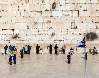 Jerusalem Photography Western Wall Kotel Photography Israel Old City Photography Home Decor Print Holy Land Fine Art Photography