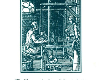 Series I, The Weaver - Occupational Bookplate
