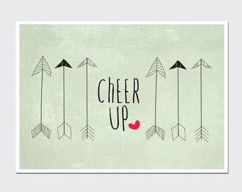 Postcard 'Cheer up'