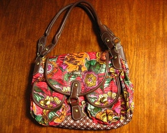 Vintage Oilily hand bag / weekend bag.