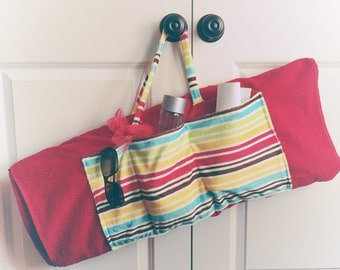 Beach Towel Bag With Pocket