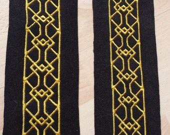 Lace / embroidery for raiment, Kili cosplay / costume - 80 cm