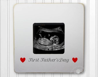 first fathers day picture frame ultrasound frame sonogram frame happy fathers day ibfsdug