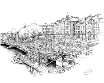 Richmond Riverside, London - Limited edition archival print