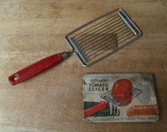 Mid Century Vintage Ekco Miracle Tomato Slicer