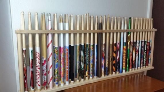 drum stick display drumstick holder hold 30 pair custom. Black Bedroom Furniture Sets. Home Design Ideas
