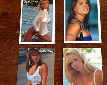 PORTFOLIO 1993 4 cards promo set