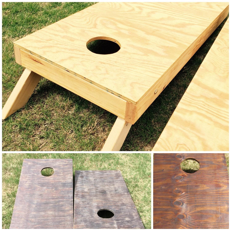 Custom Cornhole Board Set Regulation Size By
