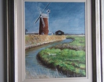 An original Painting in Acrylics by Colin M Donnellan