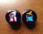 White and Black Mage Plugs (Buy 2 Pairs Get 1 Free!) featured image