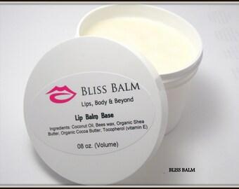 Organic Lip Balm Base 8 oz Unsweetened, make your own lip balm supplies