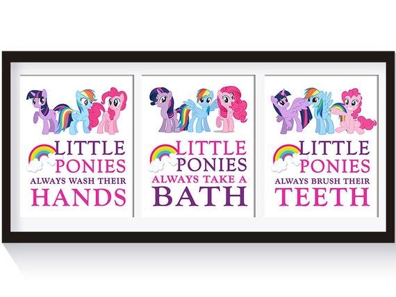 Girls Bathroom Decor: My Little Pony Bathroom Decor Girls Bathroom Decor My