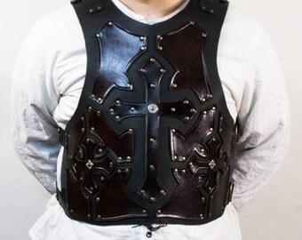 Knight Templar, medieval leather armor