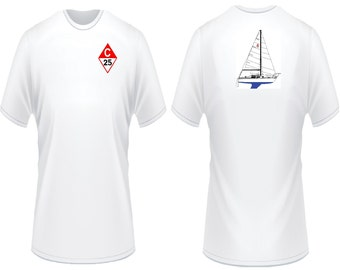 Catalina 25 Sailboat T-Shirt
