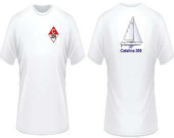 Catalina 309 Sailboat T-Shirt