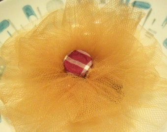 "5"" tulle bow"
