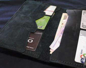 Wallet made of Russian geniune leather