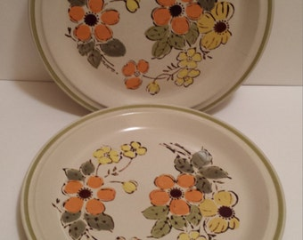 Harvest Collection Mountain Flowers Stoneware