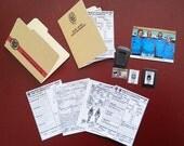 Dexter Morgan Bowling 1 Badge/Photo Driving 6 Action figure Diorama Accessories