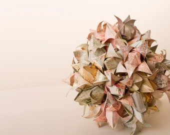 Origami bouquet, tulips handmade, Paper Tulip bouquet, Paper flowers, Paper Flower Bouquet, Paper Wedding Bouquet.