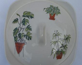 "Midwinter ""Plant Life"" tureen, designer Terence Conran - 1950s retro vintage"
