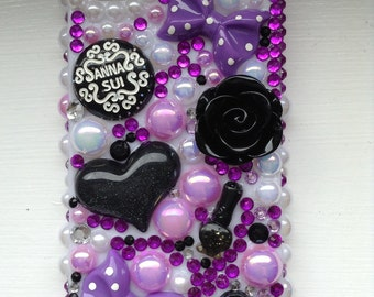 Iphone 4/4s purple pearl case