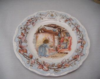 Brambly Hedge Winter Tea Plate