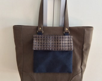 Appricata Pocket cotton tote