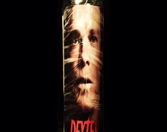 """Dexter Morgan 2x8"""" Horror Candle from Toxxic Candles"""