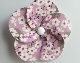 Brooch-flower liberty mitsi Parma
