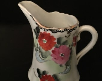 Vintage Hand Painted Creamer                    VG1201