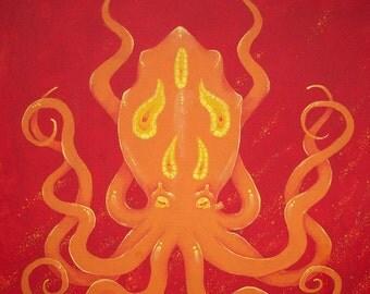 Ember Octopus