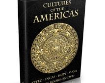 279 Cultures of the Americas Books on DVD Native American Indians Apache Navajo Aztecs Hopi Incas Maya Zuni Mayan Mestizo Indigenas