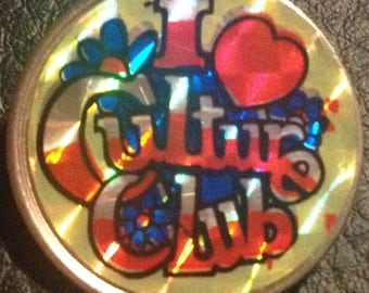 I Love Culture Club Badge